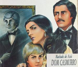 Capitu do livro Dom Casmurro de Machado de Assis